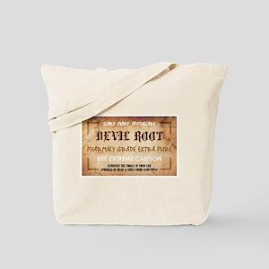 DEVIL ROOT Tote Bag