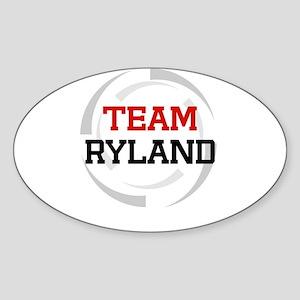 Ryland Oval Sticker