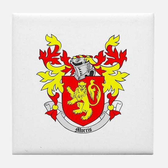 MORRIS Coat of Arms Tile Coaster