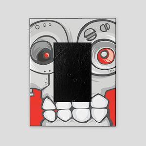 Robot Skull Picture Frame