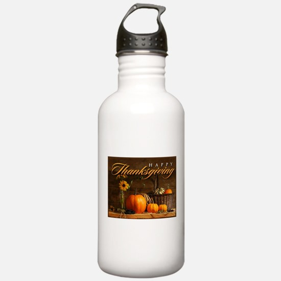 Funny Thanksgiving Water Bottle