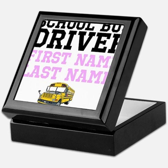 School Bus Driver Keepsake Box