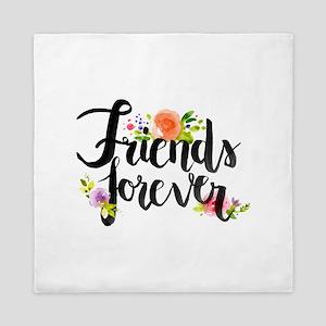 friends forever Queen Duvet