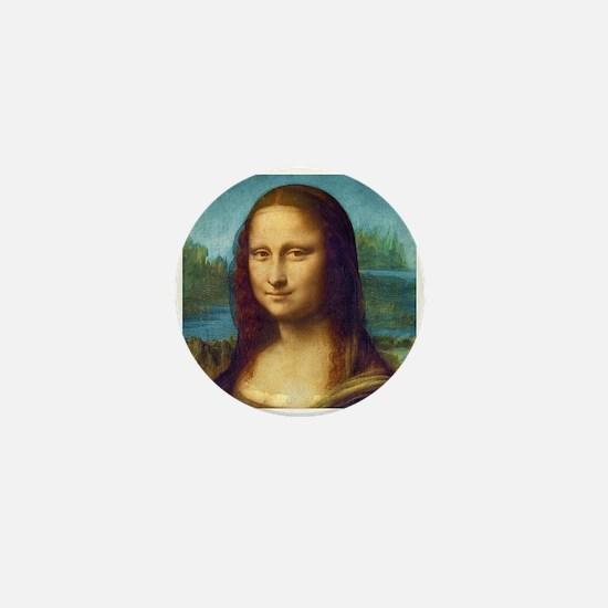 Da Vinci: Mona Lisa Mini Button