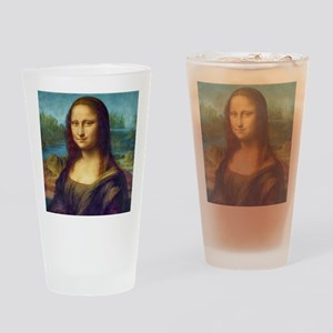 Da Vinci: Mona Lisa Drinking Glass