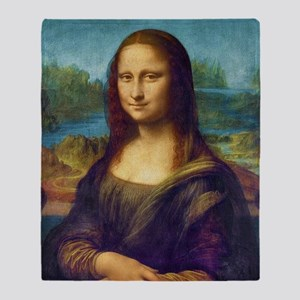 Da Vinci: Mona Lisa Throw Blanket