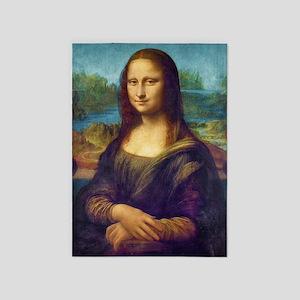 Da Vinci: Mona Lisa 5'x7'Area Rug