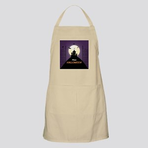 Spooky Haunted House Apron