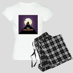 Spooky Haunted House Women's Light Pajamas