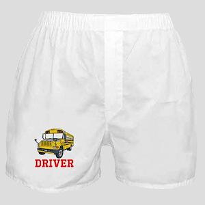 School Bus Driver Boxer Shorts
