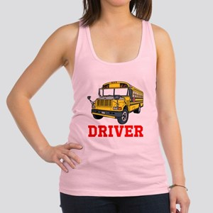 School Bus Driver Racerback Tank Top