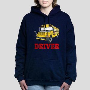 School Bus Driver Women's Hooded Sweatshirt