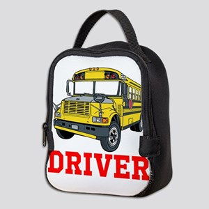 School Bus Driver Neoprene Lunch Bag