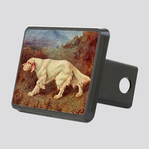 English Setter Watercolor Rectangular Hitch Cover