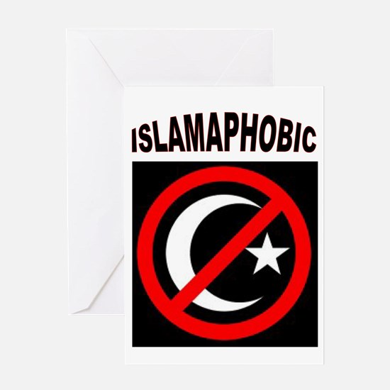 ISLAMAPHOBE Greeting Cards