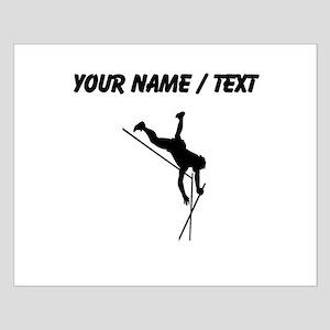 Custom Pole Vaulter Silhouette Posters