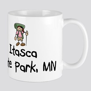ItascaStPrk-BackGrl Mugs