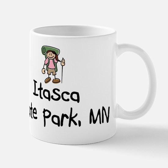ItascaStPrk-BackGrl Mugs