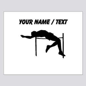 Custom High Jump Silhouette Posters