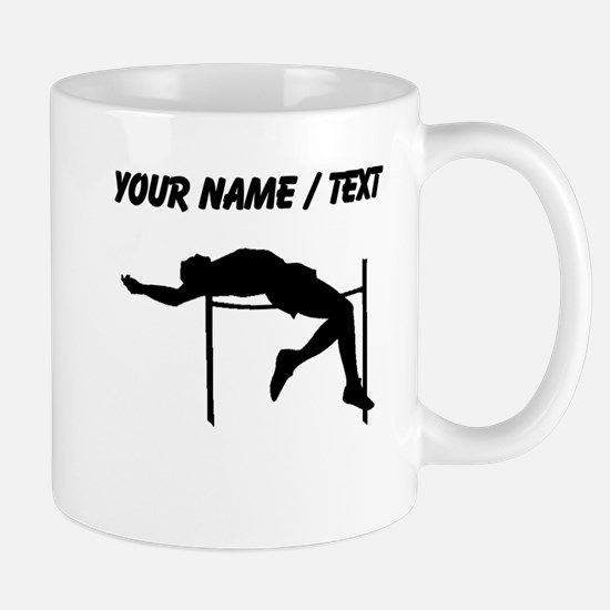 Custom High Jump Silhouette Mugs