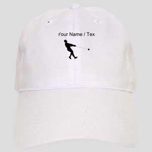 Custom Hammer Throw Silhouette Baseball Cap
