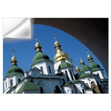 St Sophia Cathedral And Archway Wall Decal