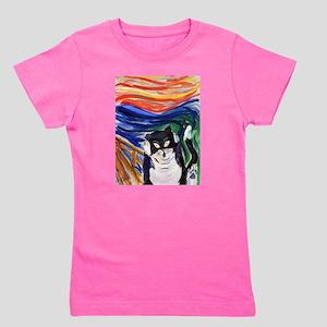 Kitty Scream Girl's Tee
