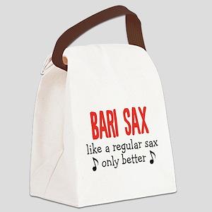 Bari Sax Canvas Lunch Bag