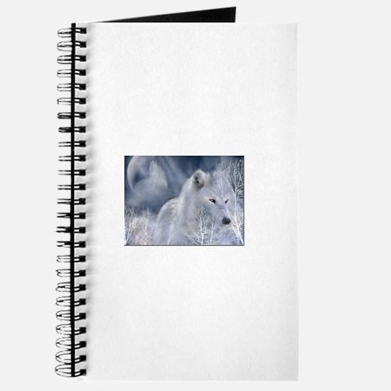 white spirit wolf Journal