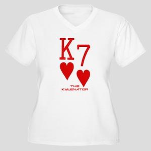 King of Hearts 7 of Hearts Poker Women's Plus Size