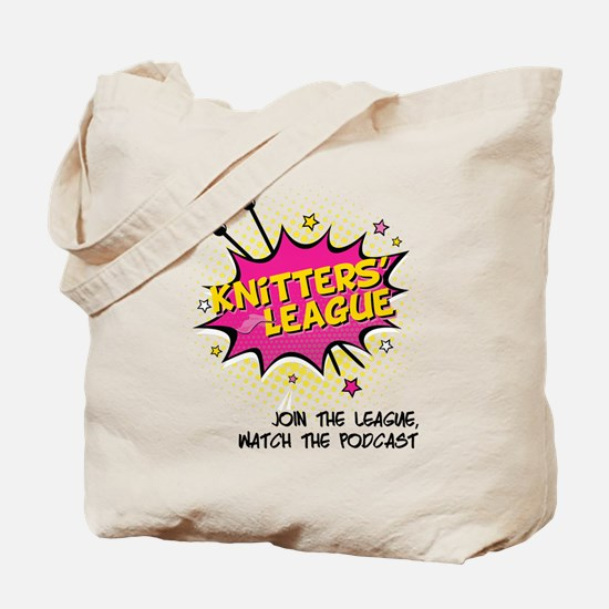 Knitters' League Tote Bag