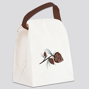 Pinecones Canvas Lunch Bag