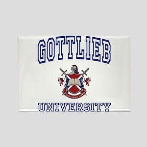 GOTTLIEB University Rectangle Magnet