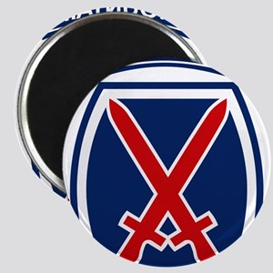 10th Mountain Division Magnets