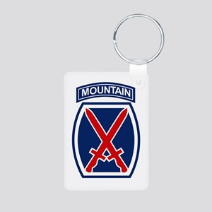 10th Mountain Division Keychains