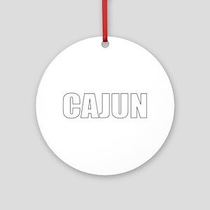Cajun Ornament (Round)