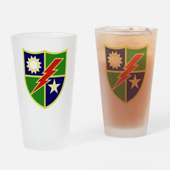 75th Ranger Regiment.png Drinking Glass