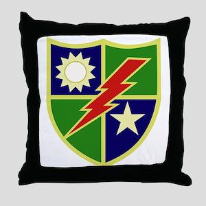75th Ranger Regiment Throw Pillow