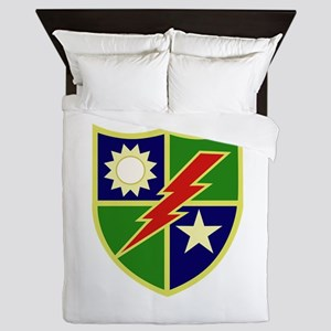 75th Ranger Regiment Queen Duvet