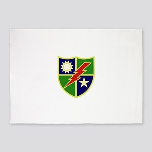 75th Ranger Regiment 5'x7'Area Rug