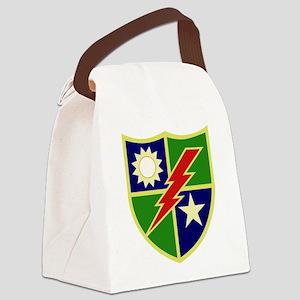 75th Ranger Regiment Canvas Lunch Bag