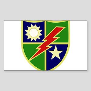 75th Ranger Regiment Sticker