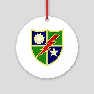 75th Ranger Regiment Ornament (Round)