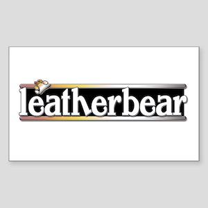 Leatherbear Sticker (Rectangle)