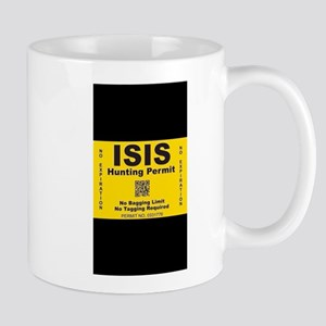 Isis hunting permit Mugs