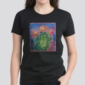pink cactus blossoms, southwest art T-Shirt