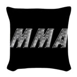 MMA Woven Throw Pillow