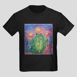 pink cactus blossoms, southwest art T-Shirt
