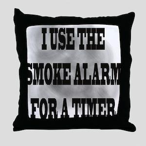 Timer Throw Pillow