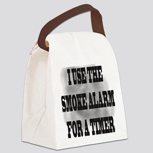 Timer Canvas Lunch Bag